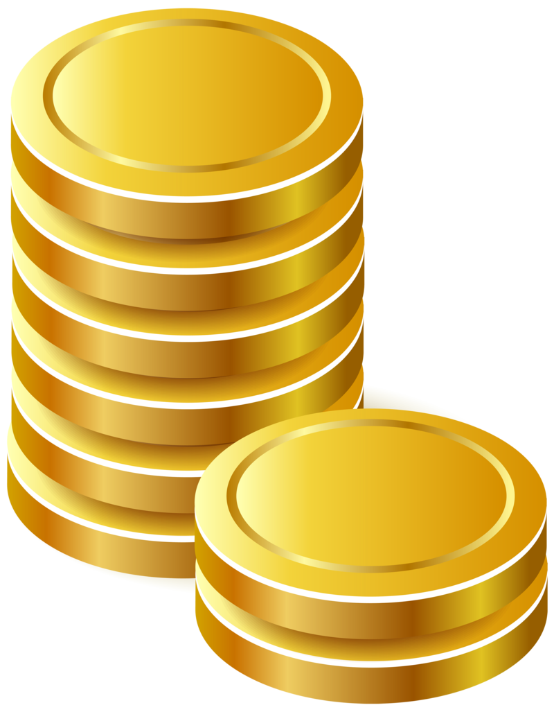Gold clipart gold bullion. Download free png coins