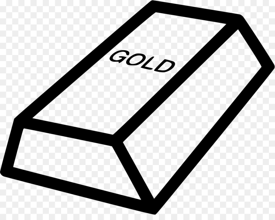 Gold clipart gold ingot. Triangle png download free