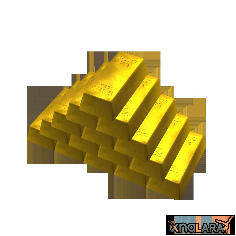 Bar transparent png pictures. Gold clipart gold ingot