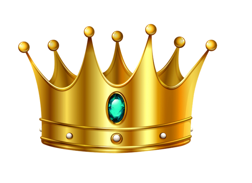 Gold clipart gold nugget. Crown png free images