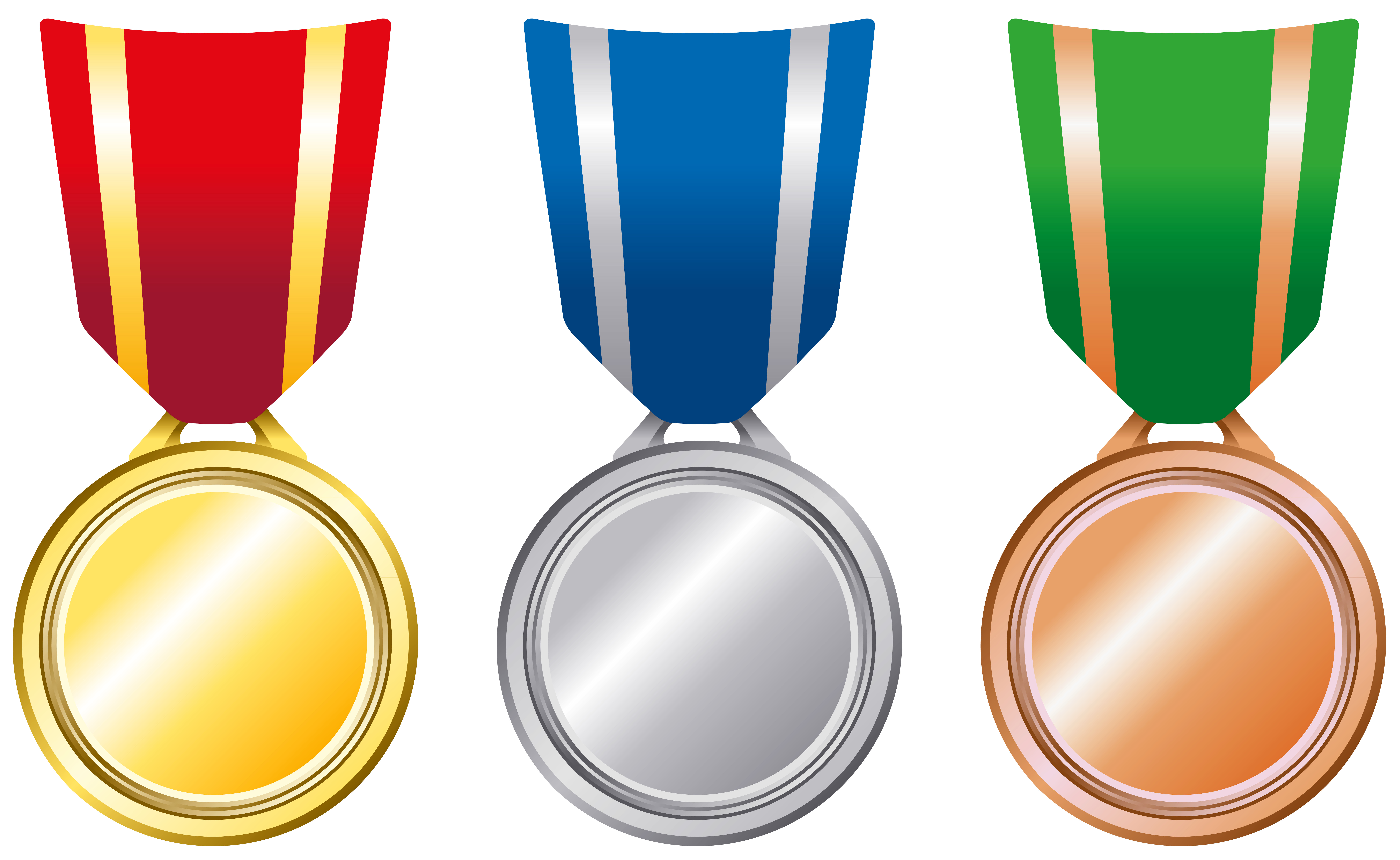 Laurel clipart gold silver bronze.  collection of medal