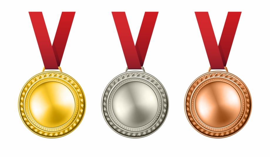 Laurel clipart gold silver bronze. Award clip art medals