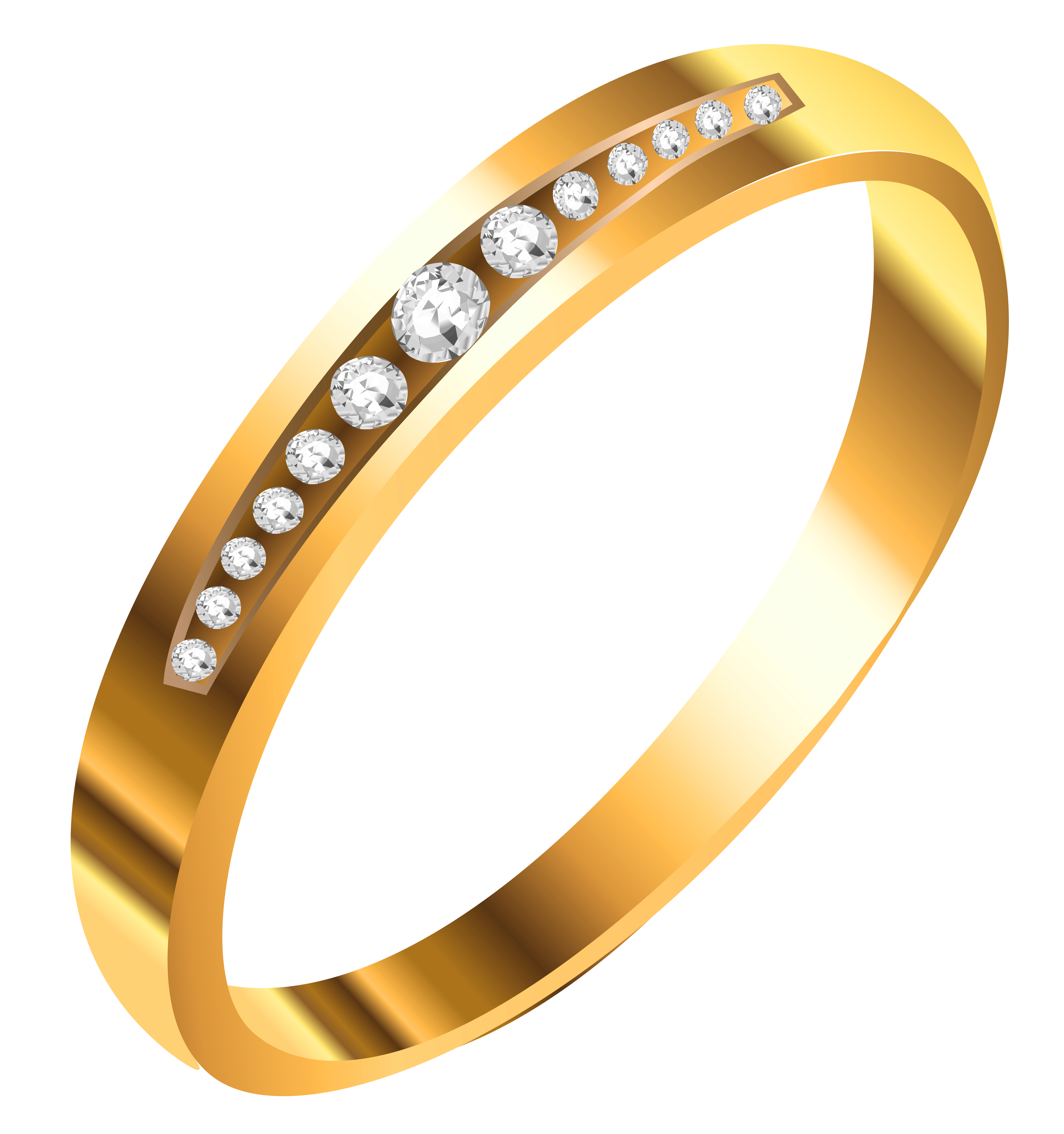 collection of jewelry. Gold clipart jewels