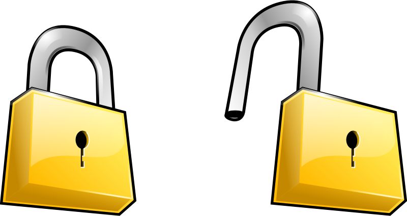 Lock insecurity frames illustrations. Gold clipart keyhole
