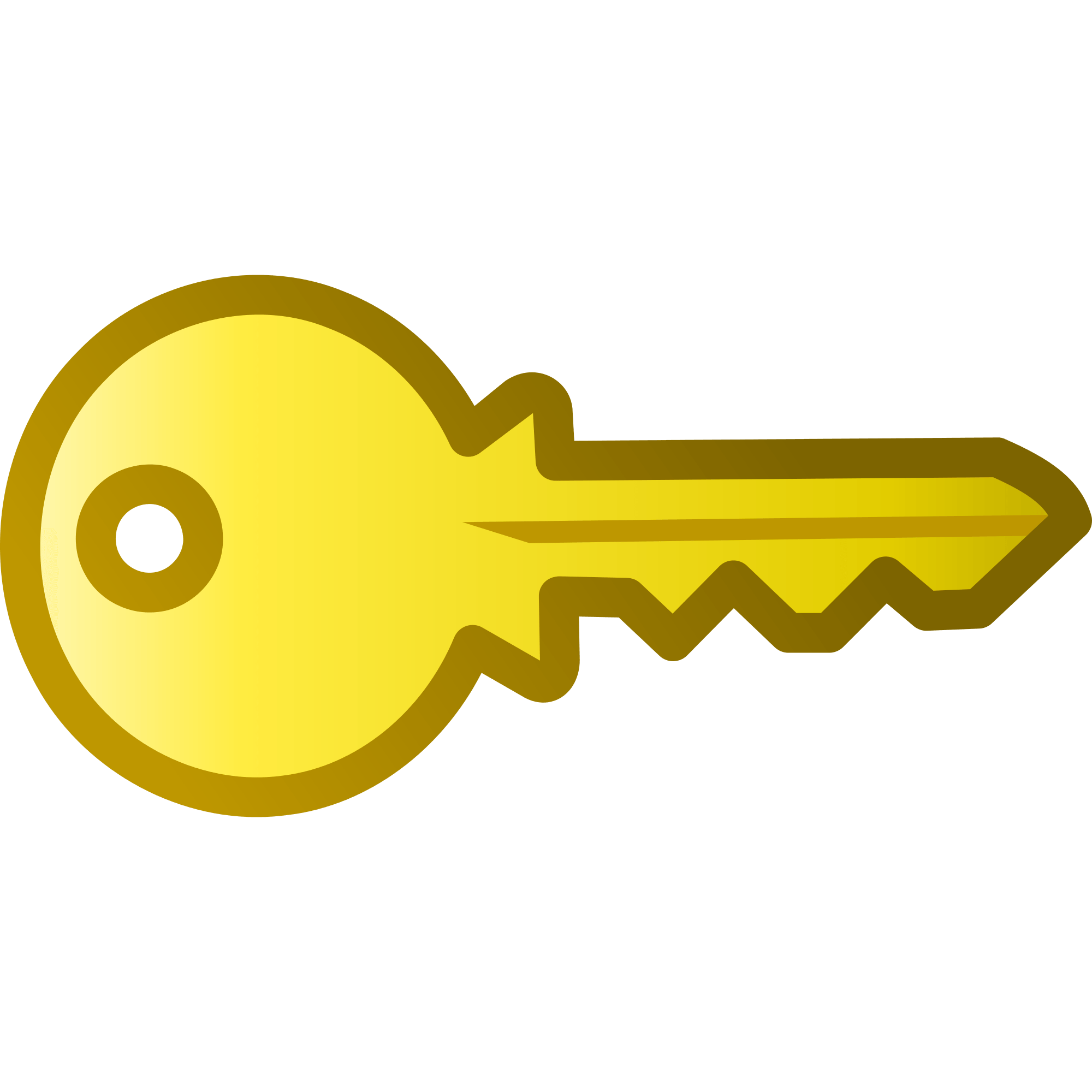 Gold clipart keyhole. Golden key cliparts zone