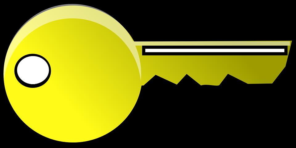 Golden key cliparts shop. Gold clipart keyhole