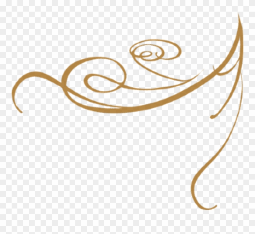 Gold clipart line art. Free png fancy designs