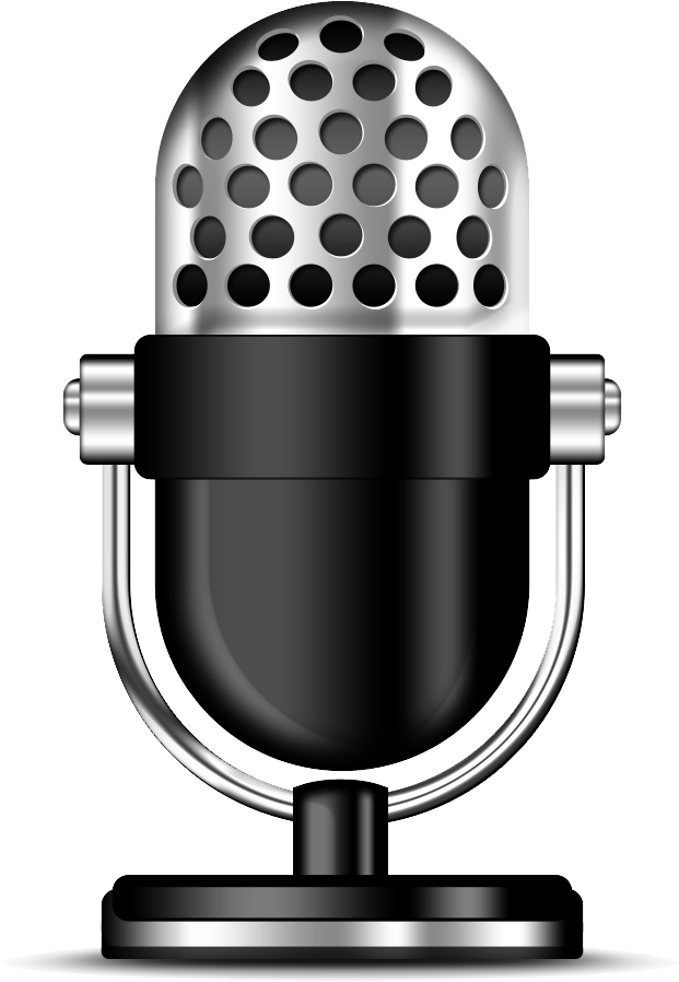 Microphone clipart audio. Podcast png photos