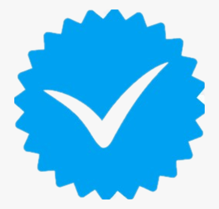 Verified icons media symbol. Instagram clipart high resolution