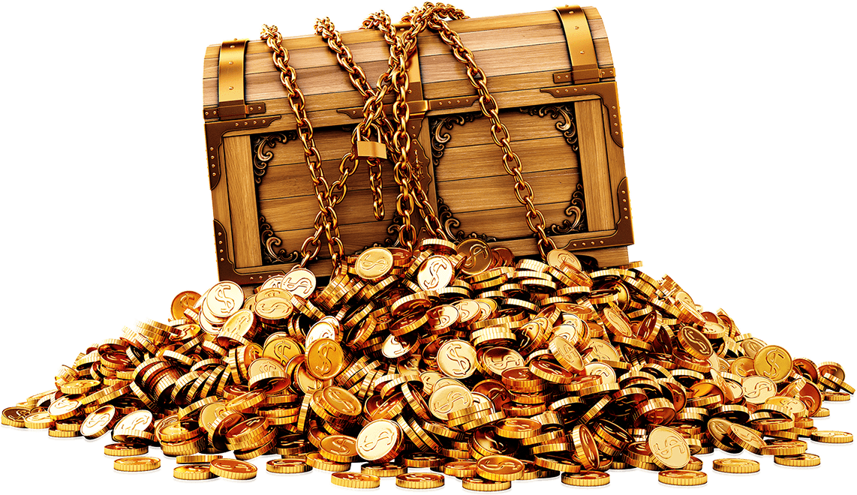 Massive gold png photos. Treasure clipart golden