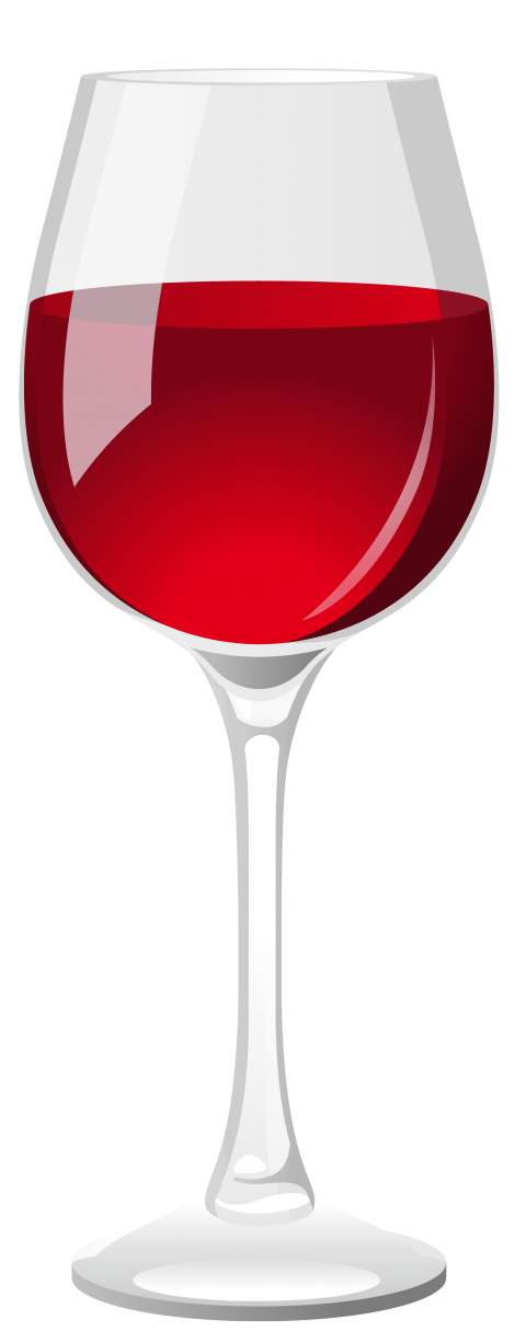 Red png free images. Grapes clipart wine glass