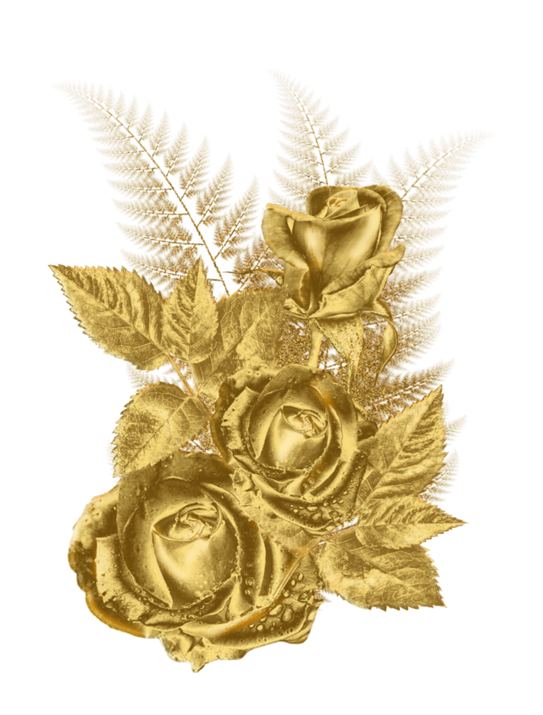 Golden by roula on. Gold flower png