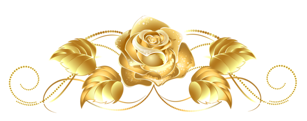 flowers library download. Gold flower png
