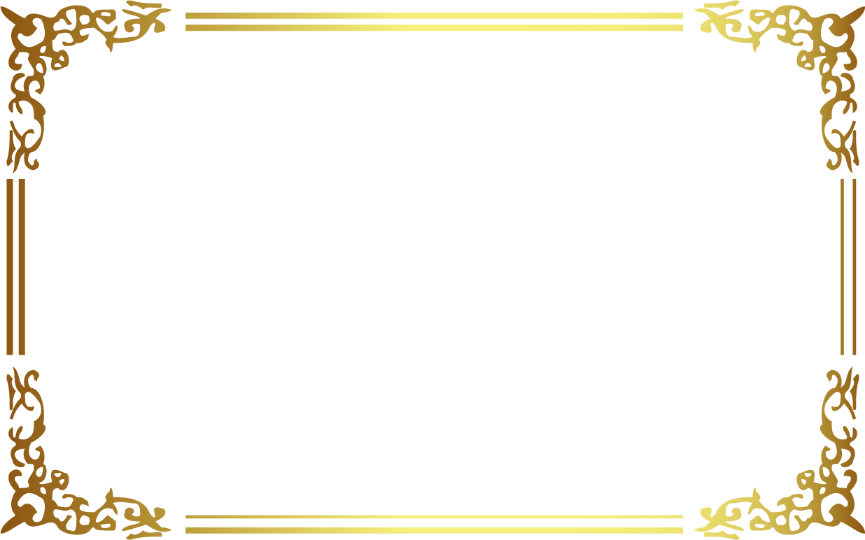 Icon ancient golden transprent. Gold frame png