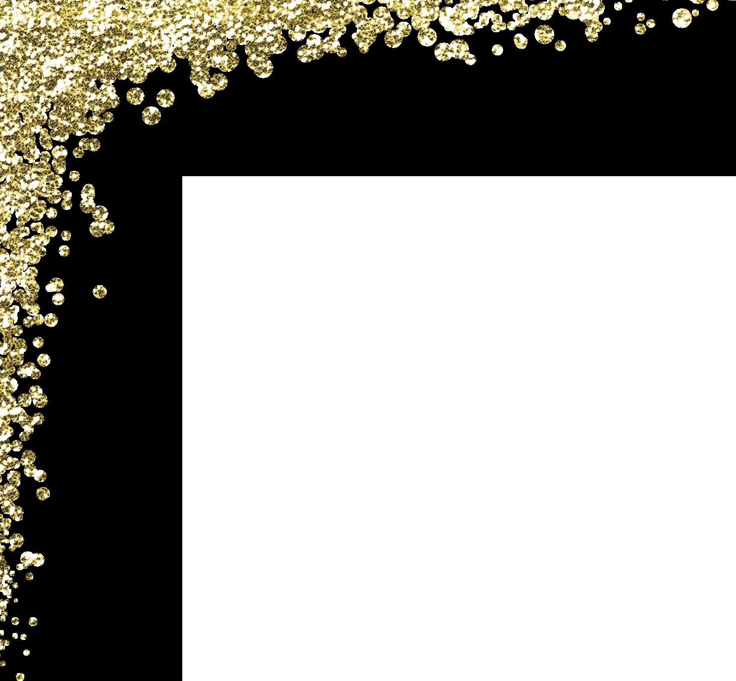 Gold glitter border png. Https www live dancing