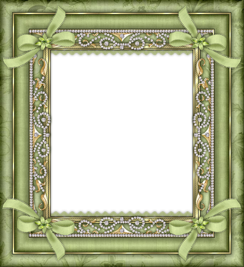 Gold glitter frame png.  for free download