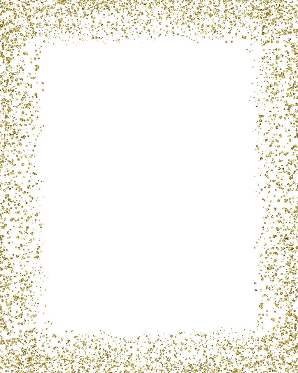 for free download. Gold glitter frame png