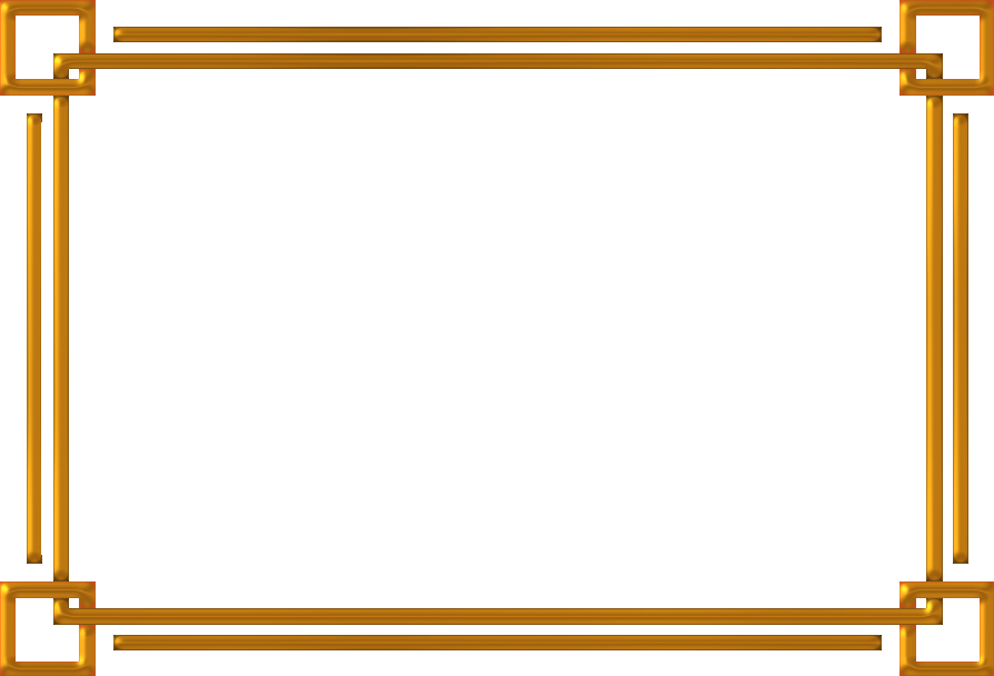 Gold picture frame png. Golden image with transparent
