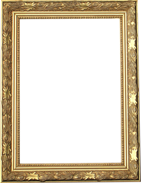 Gold picture frame png. Psd official psds