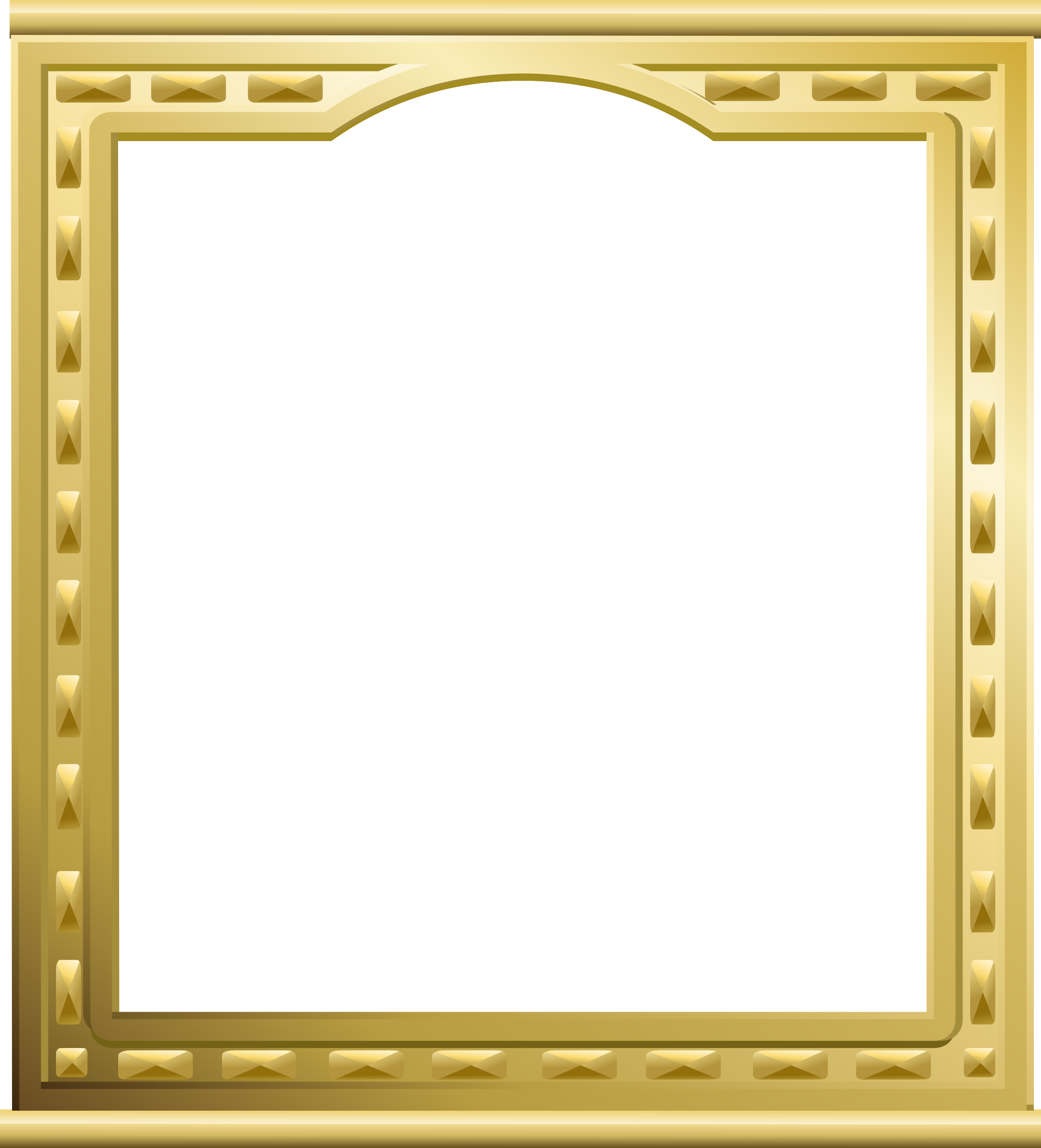 Clipart golden big image. Gold picture frame png