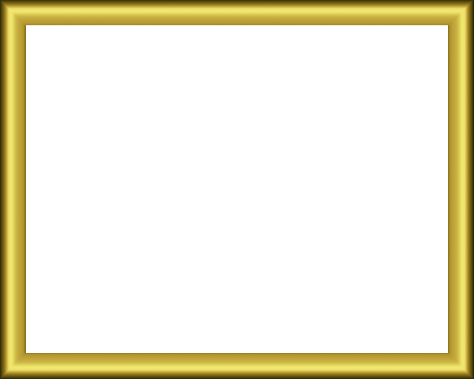 Gif pinterest. Gold picture frame png