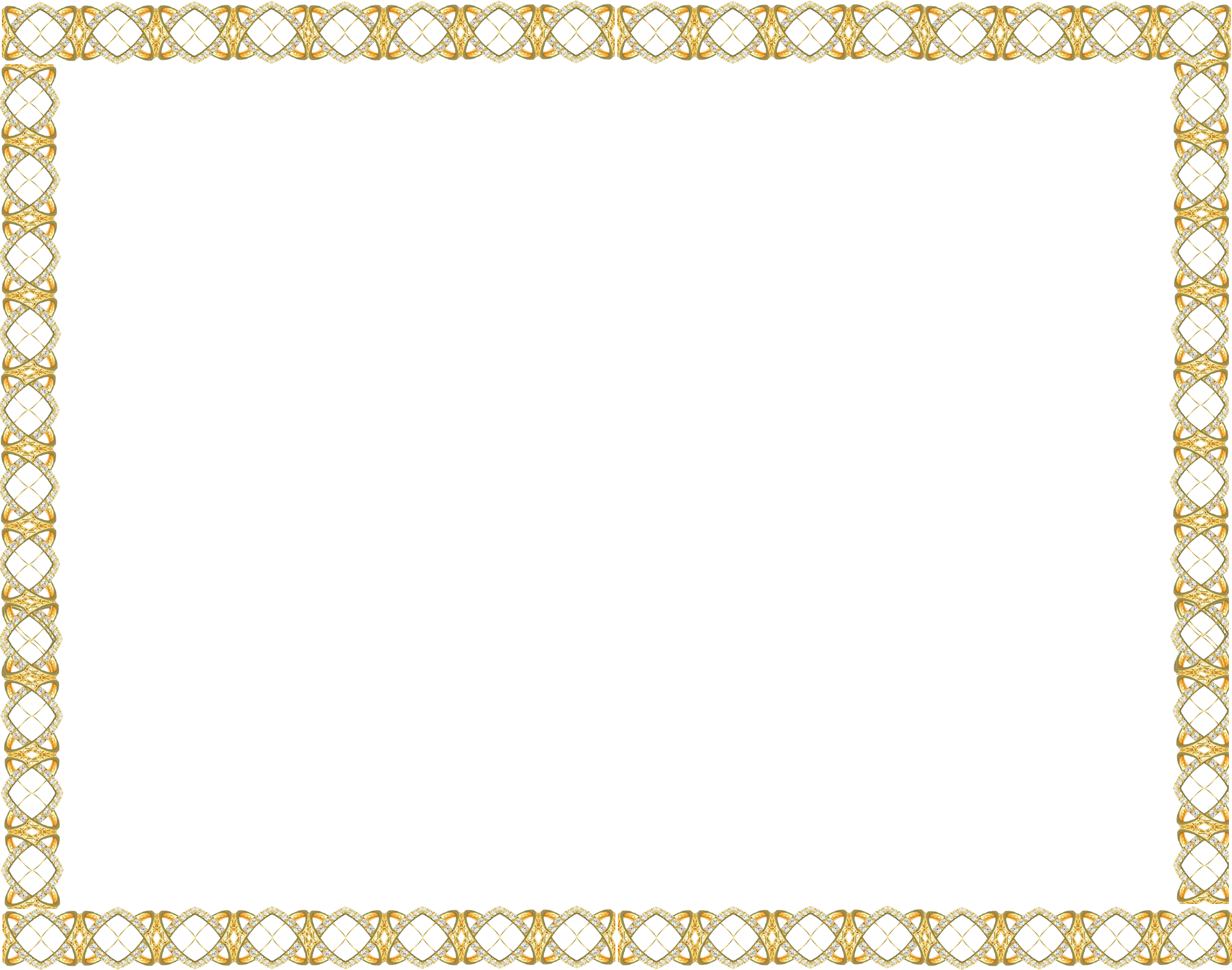 Free icons and backgrounds. Golden border png