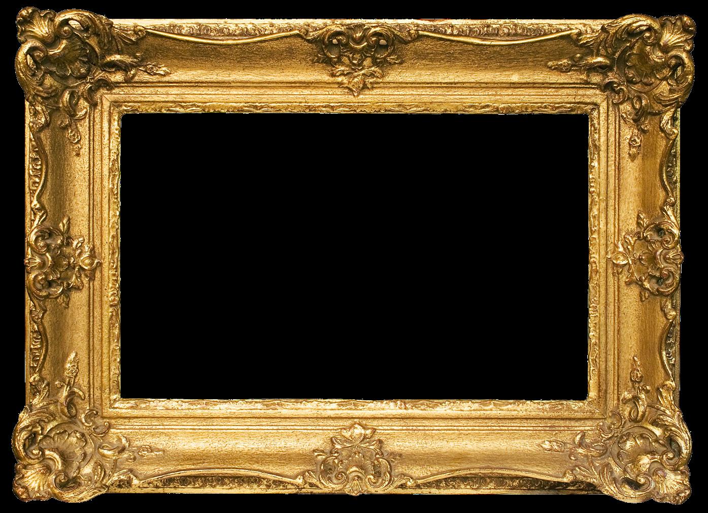 Golden frame png. Gold transparent images all