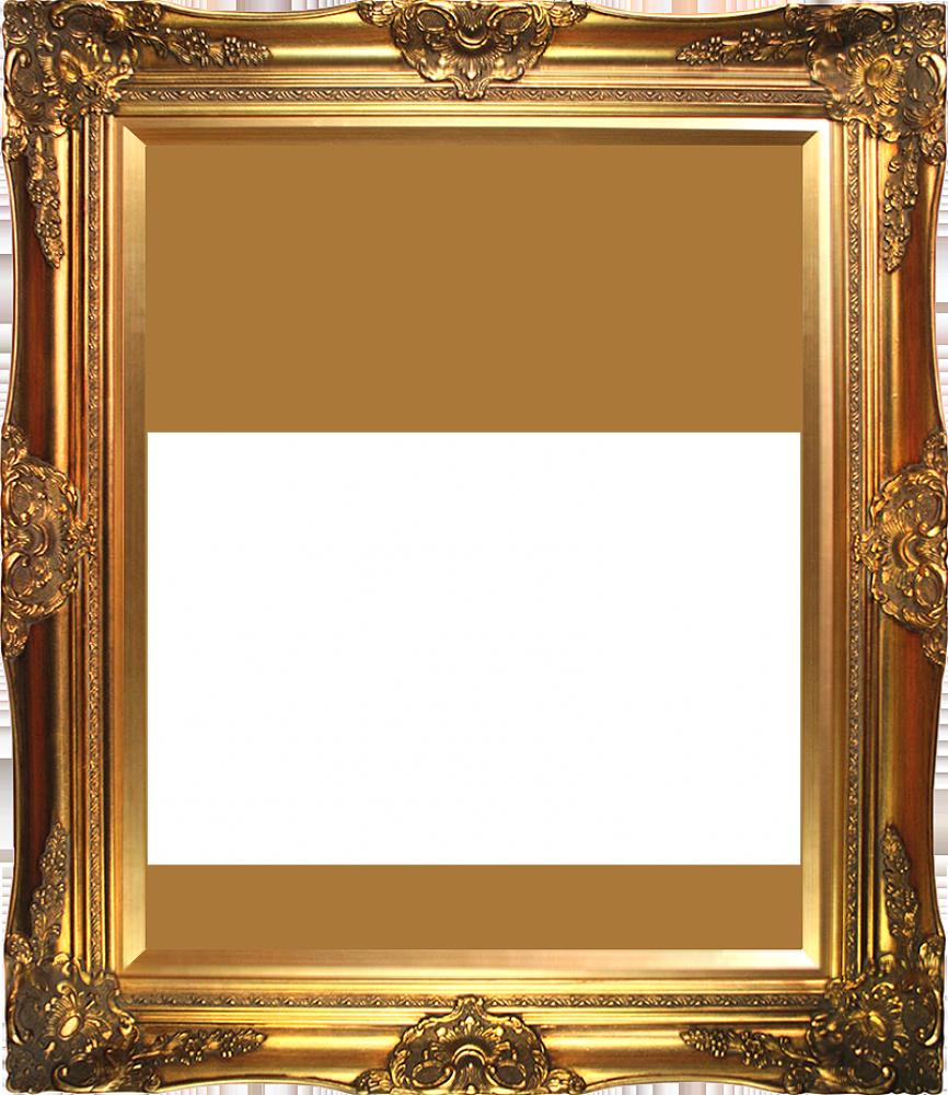 High quality image arts. Golden frame png
