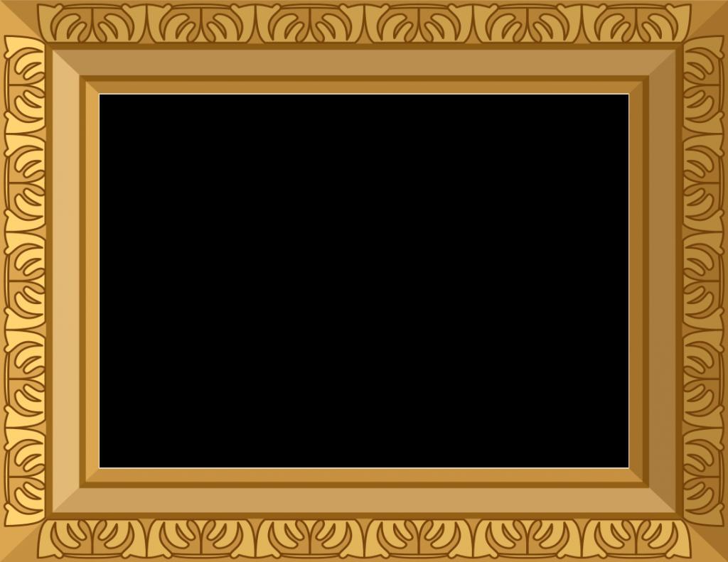 Free download peoplepng com. Golden frame png