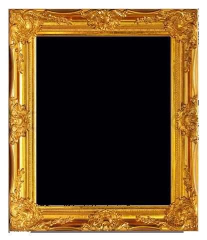 Golden frame png. Gold by gazlan sahmeiy