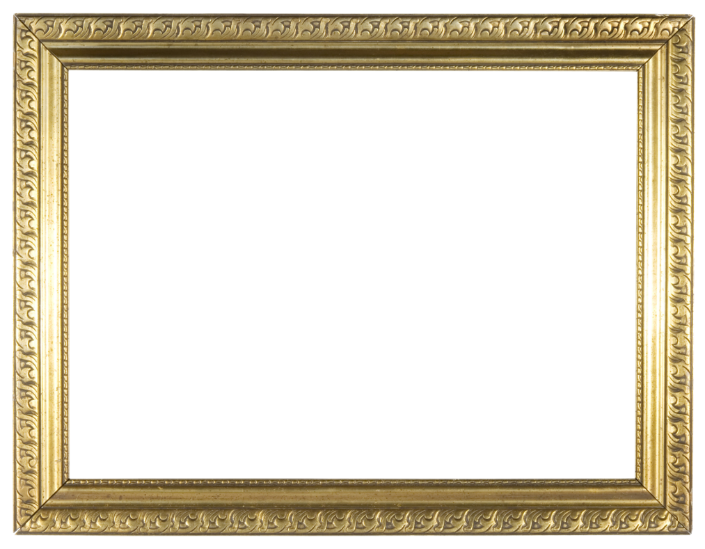 By llexandro on deviantart. Golden frame png