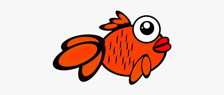 Goldfish clipart 5 fish. Salmon scales of cartoons
