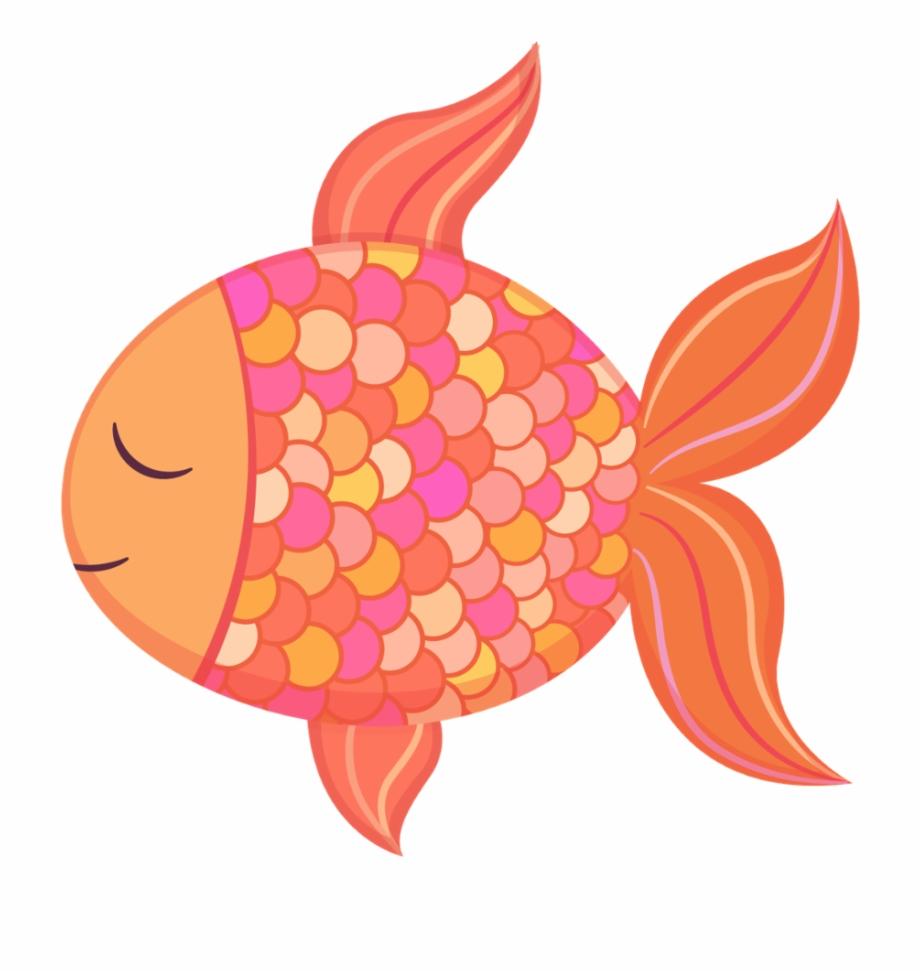 Baby cute clip art. Goldfish clipart 5 fish