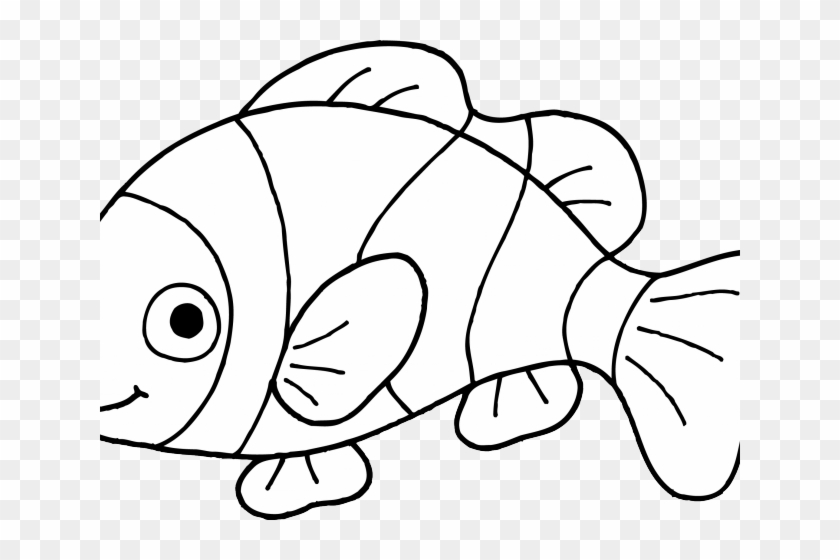 Dorothy cliparts outline clip. Goldfish clipart colorful fish