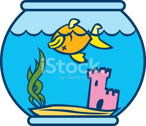 Fish stock vector freeimages. Goldfish clipart dead goldfish