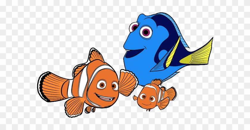 Goldfish clipart dory fish. Cartoon animated illustration