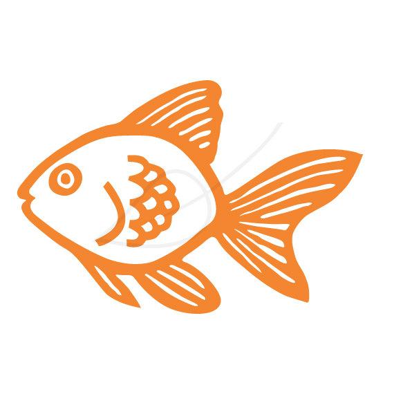 Goldfish clipart fisg. Gold fish clip art