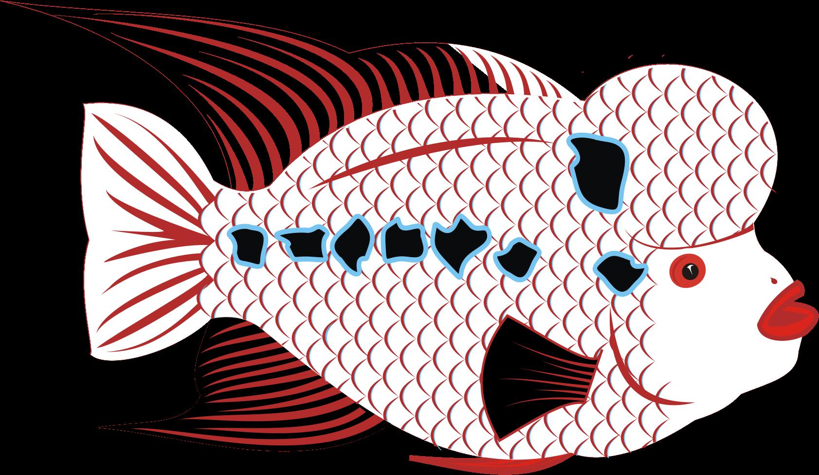 Big image png. Goldfish clipart fish head