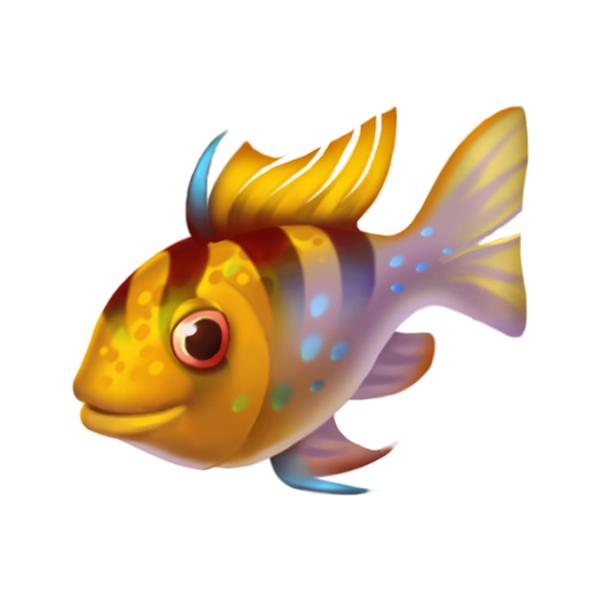 Carassius auratus cartoon silver. Goldfish clipart fish head