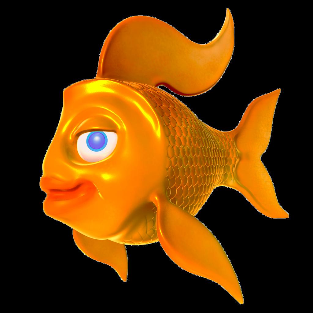 Goldfish clipart fishtank. Mhbp d artist fish