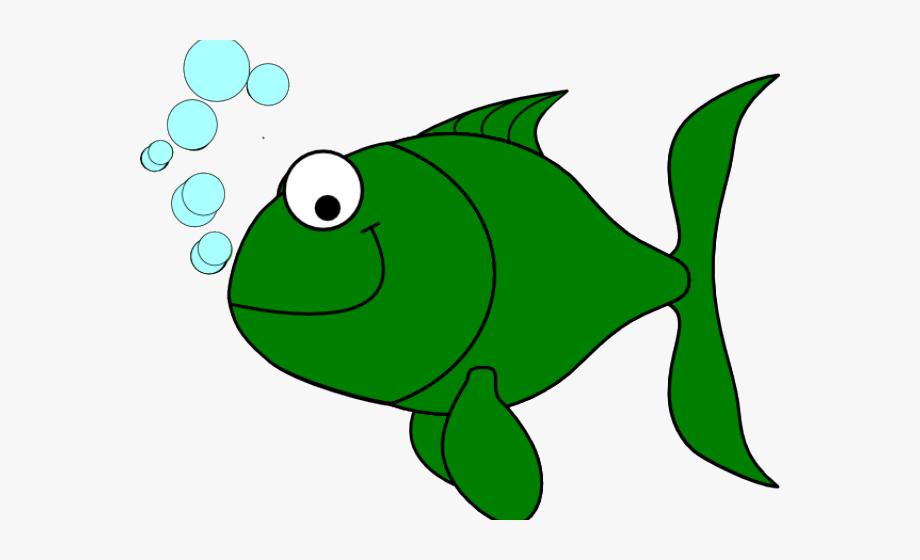 Clip art cliparts . Goldfish clipart green