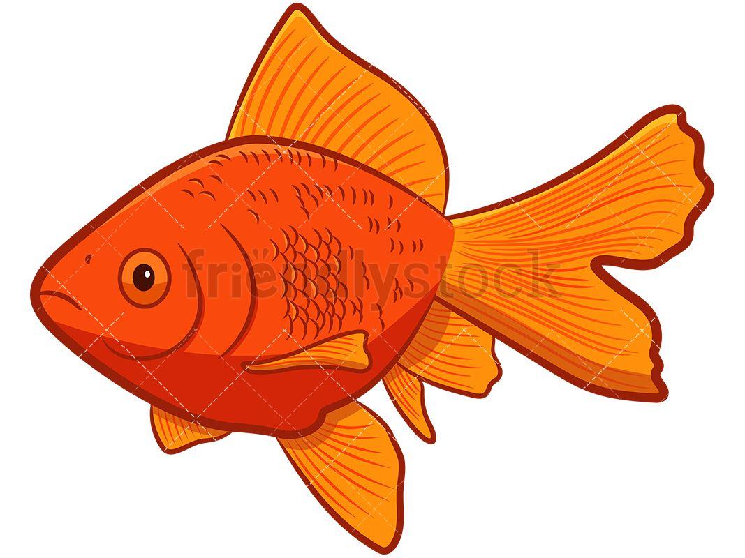 Free comic download clip. Goldfish clipart ish