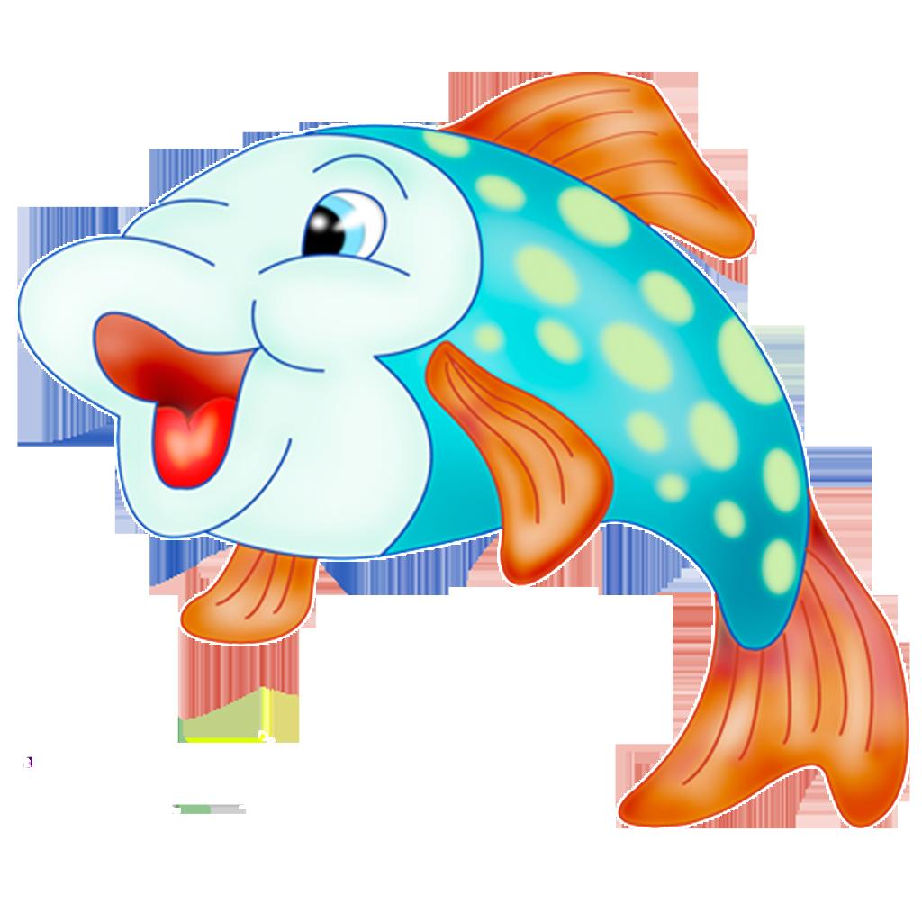 Goldfish clipart little fish. Cartoon illustration cute