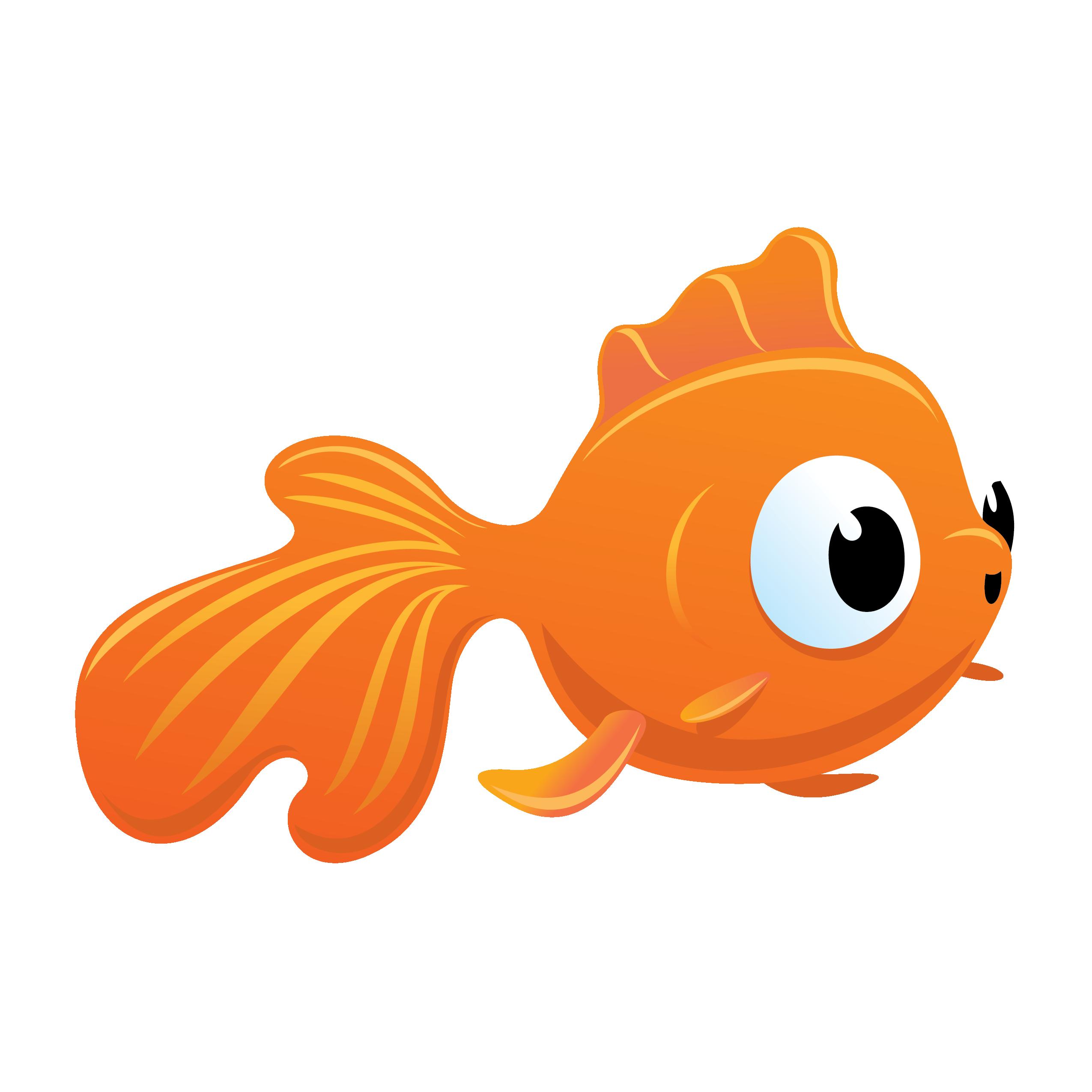 goldfish clipart mascot