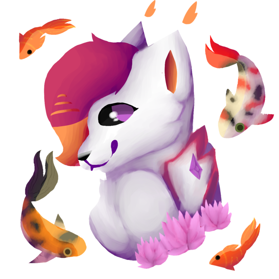 Goldfish clipart pickled. Dillpickle by zanyplays on