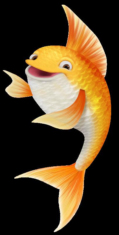 goldfish clipart pretty fish