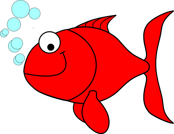 Goldfish clipart red. Clip art at clker