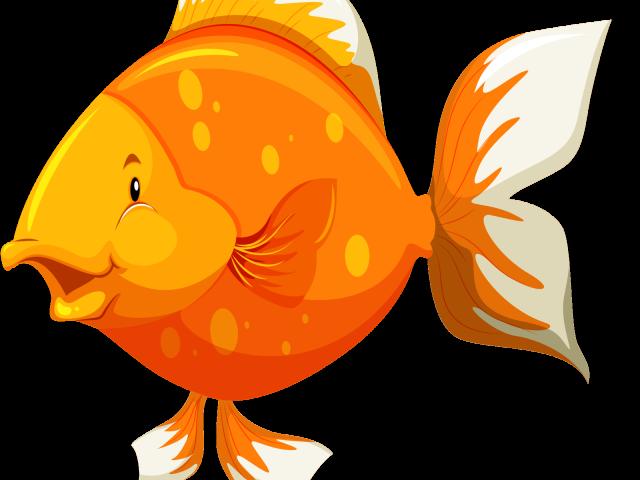 Goldfish clipart sea fish. Gold dead free on