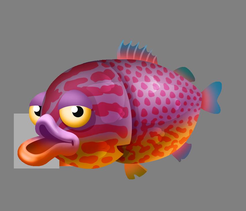 Goldfish clipart single fish. Image longear sunfish png