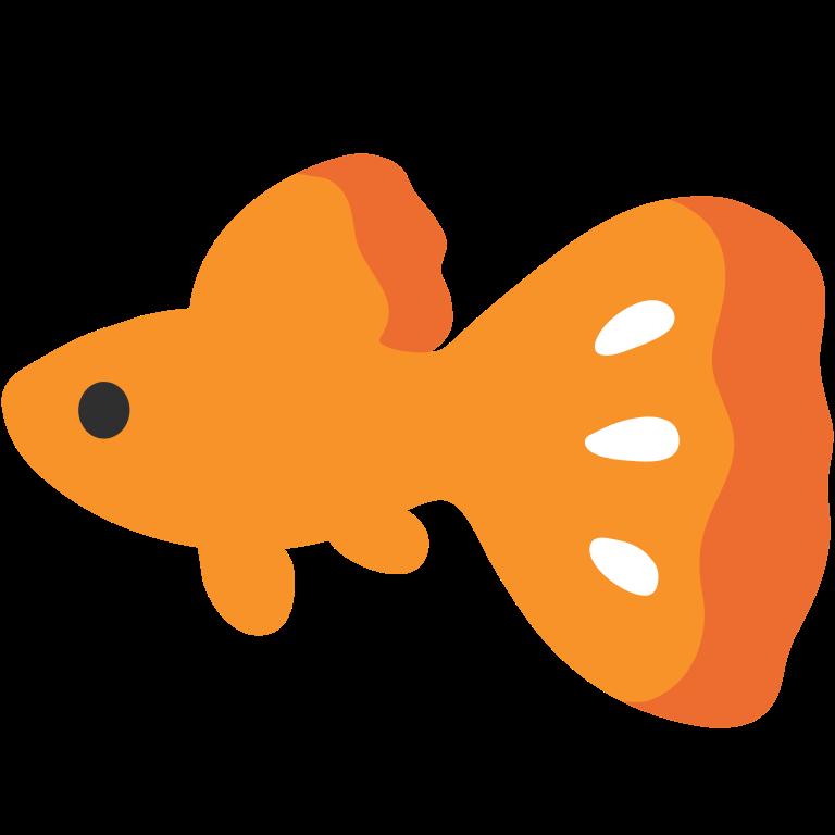 File emoji u f. Goldfish clipart svg